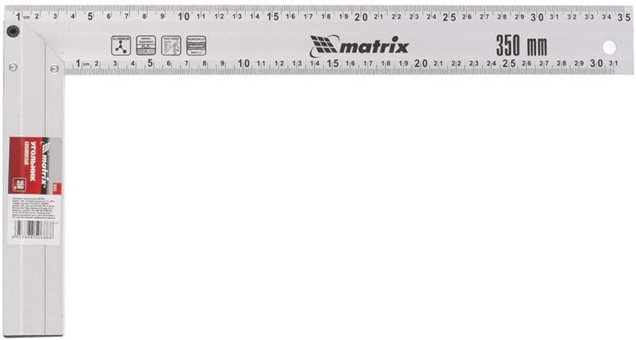 "Esquadro Alumínio Fundido 14"" 350MM - Matrix"