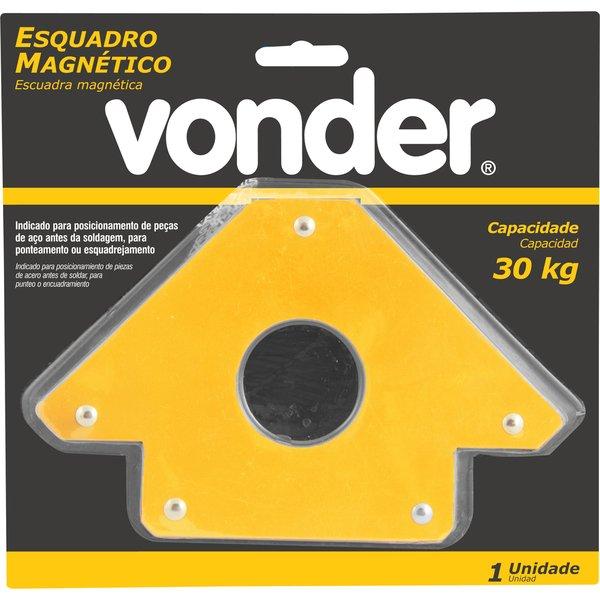Esquadro Magnético para Soldador 30kg, Vonder
