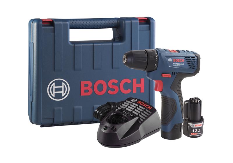 Furadeira Parafusadeira Sem Fio GSR 120-LI Professional a Bateria GSR120 LI - Bosch