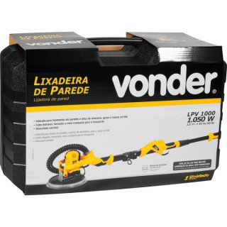 Lixadeira de Parede LPV 1000 C/ Led 1050W Vonder