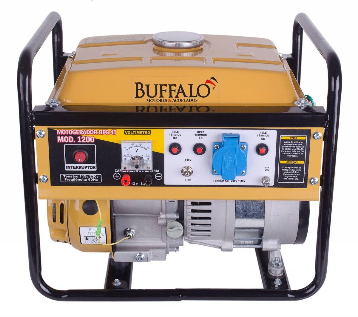 Motogerador à Gasolina BFG 1200 com Partida Manual - Buffalo