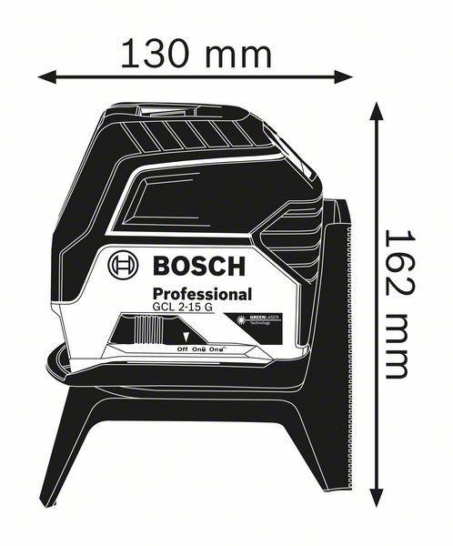 Nivelador a Laser GCL 2-15 G - Bosch
