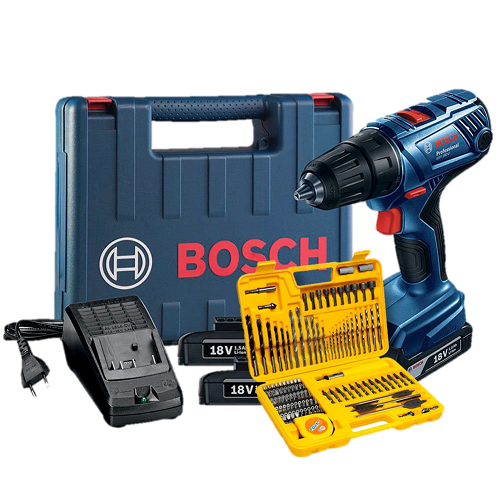 Parafusadeira/Furadeira GSB 180-LI com Kit Impact - Bosch