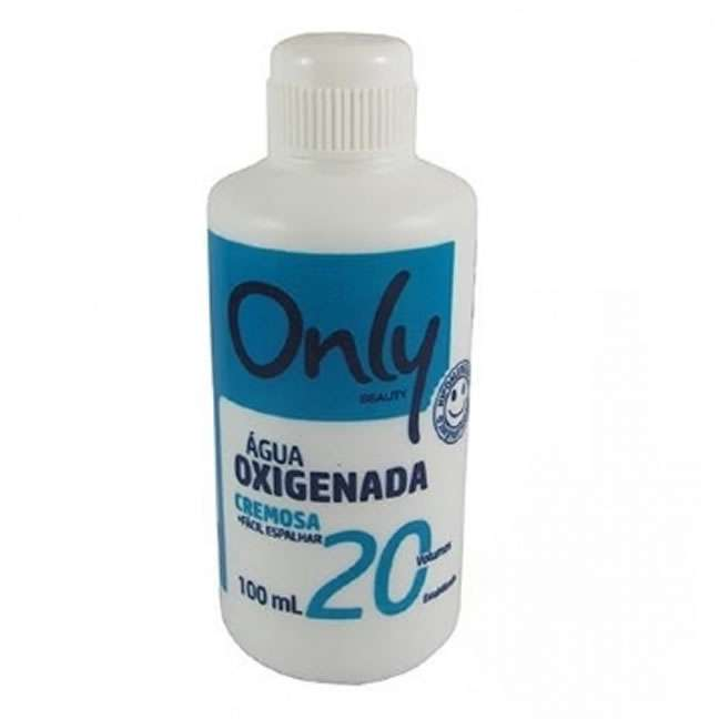 Aguá Oxigenada 20v  Volumes Cremosa 100ml Only
