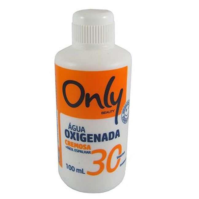 Aguá Oxigenada 30v  Volumes Cremosa 100ml Only