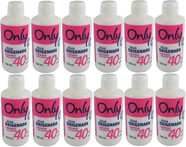 Aguá Oxigenada 40v  Volumes Cremosa 100ml Only 12 unidades