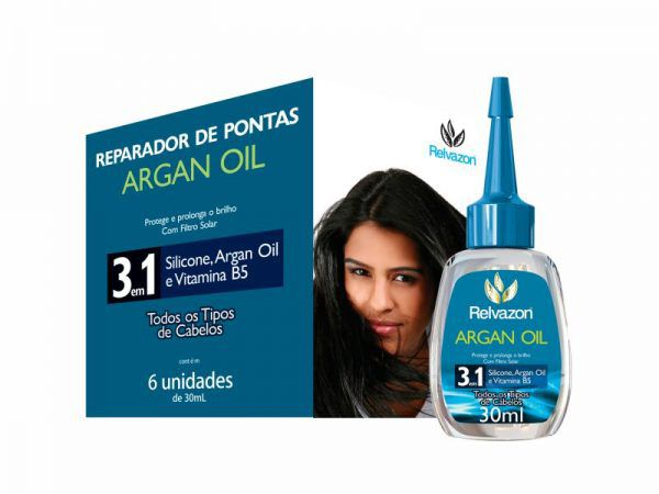 ARGAN OIL REPARADOR PONTAS 30ML RELVAZON