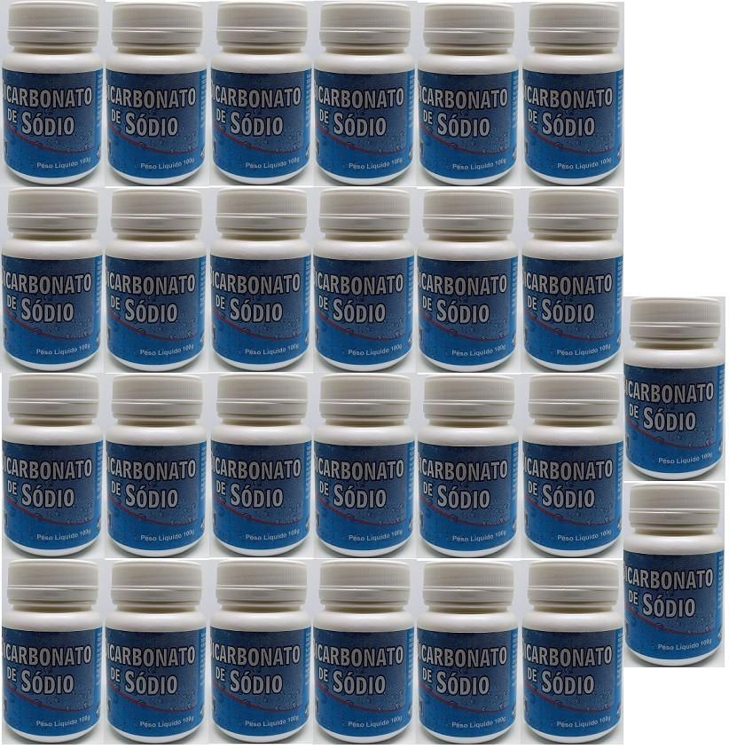 Bicarbonato De Sodio 100g (branquear dentes)  Henfer 26 unid