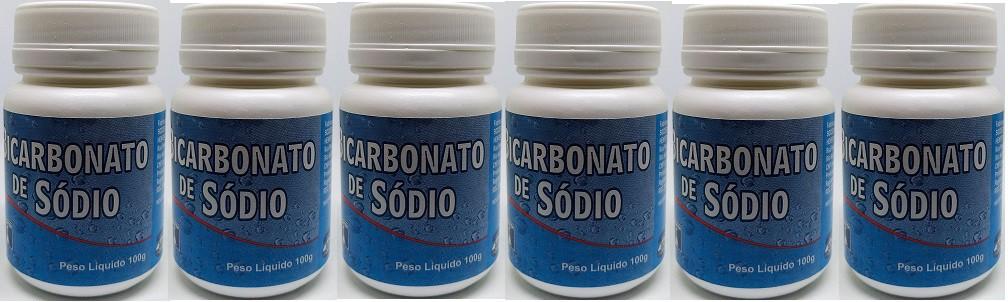 Bicarbonato De Sodio 100g (branquear dentes)  Henfer 6 unid
