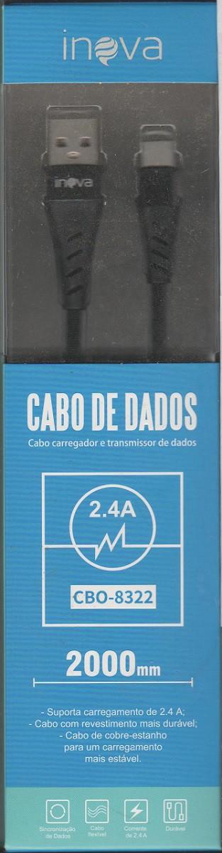 CABO  DE DADOS/CARREGADOR USB TIPO C (ENTRADA MAIS GROSSA) 2M
