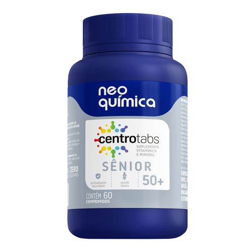 Centrotabs Senior 50+ Imunidade Energia 60 Cprs