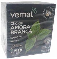 Cha de Amora Branca (diabetes,resfriados) 10 Sache 10g Vemat