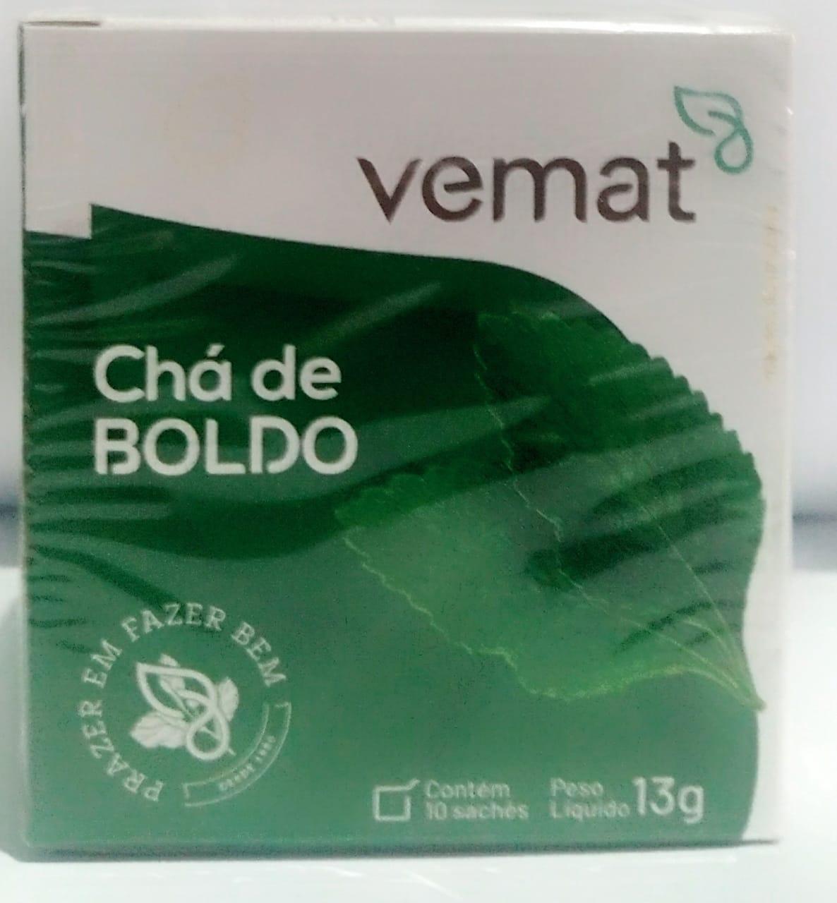 Cha De Boldo 10 saches 10g Vemat