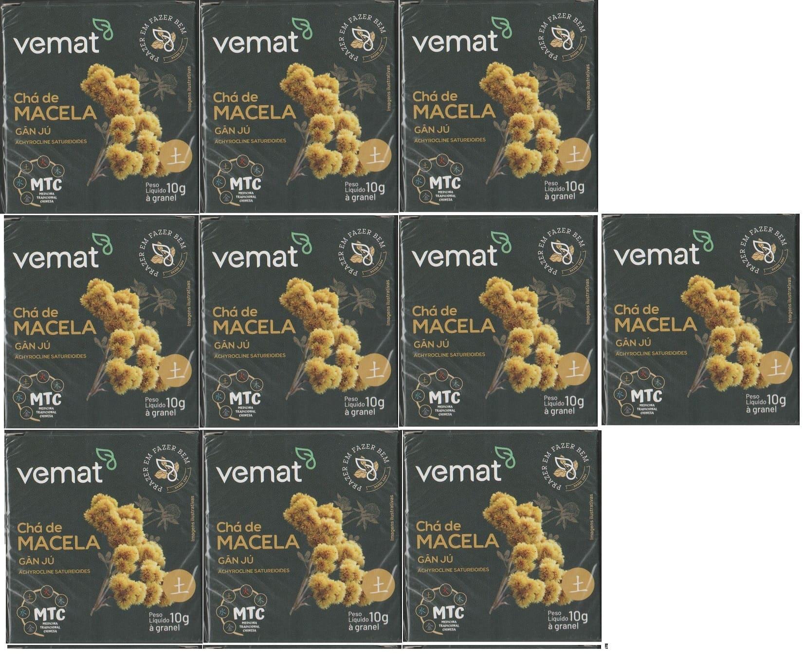Chá De Macela (equilibrio das emoções) 10g granel 10 Caixas