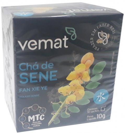 Cha de Sene 10 Saches 10g Vemat