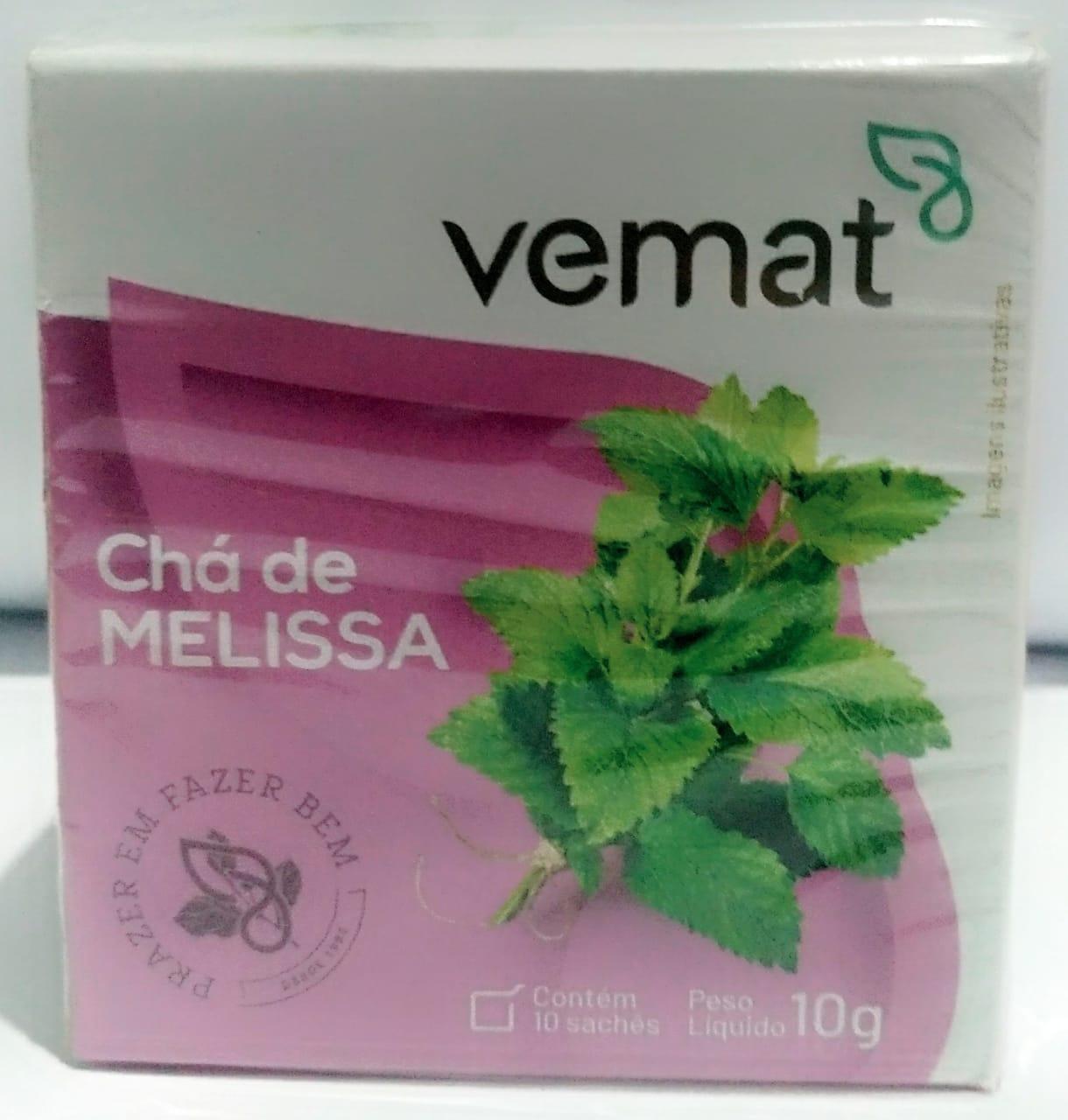 Cha Melissa 10 Saches 10g Vemat