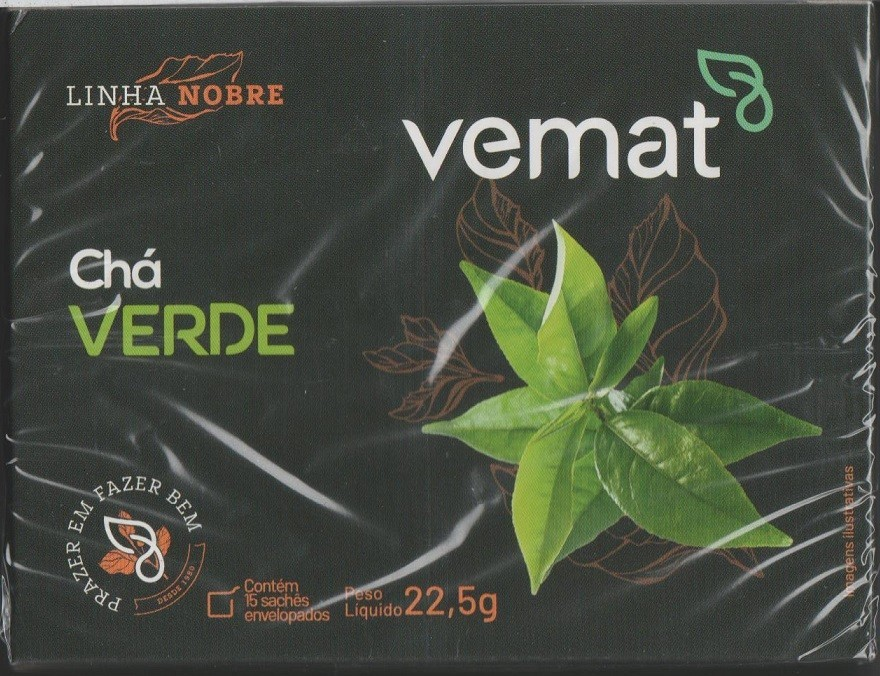 Cha Verde (emagrecedor) Vemat 15 Saches