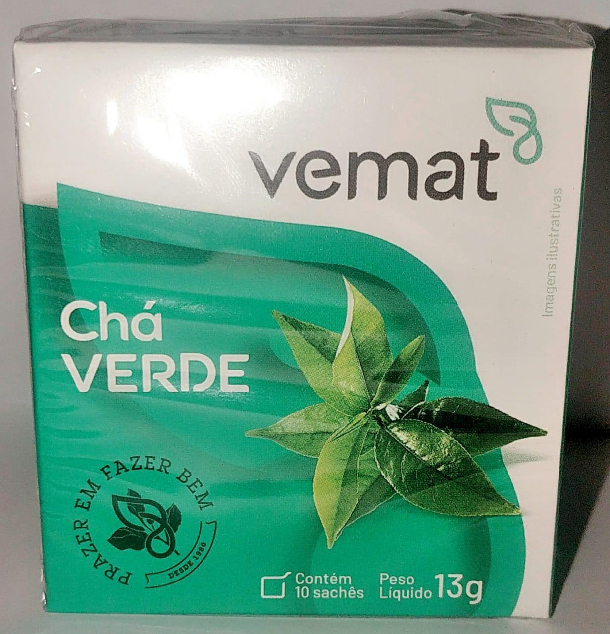 Cha Verde Vemat 10 Saches