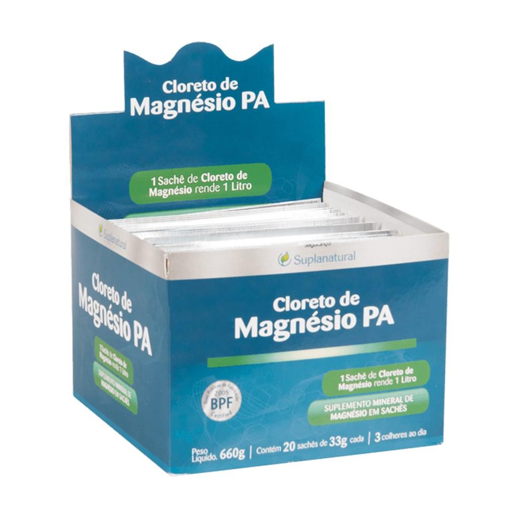 Cloreto Magnesio  P.A (Puro) 33g