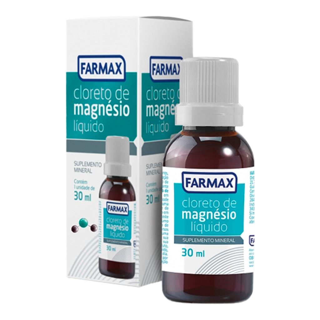 Cloreto Magnesio P.A (Puro) Liquido 30ml Farmax