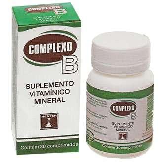 COMPLEXO B 30 COMP HENFER