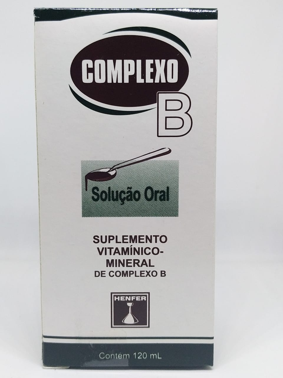 COMPLEXO B XAROPE 120ML HENFER