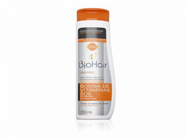 Condicionador Sos Bomba Vitaminas 350ml Biohair