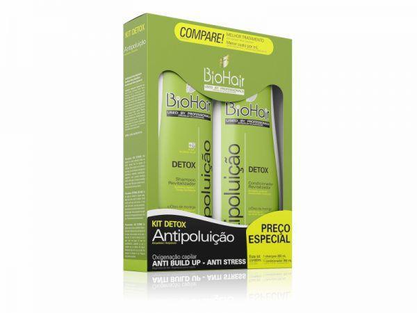 Kit Shampoo/Condicionador Antipoluicao 2x350ml Biohair