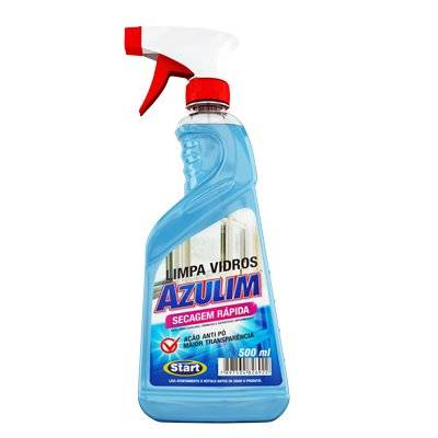 LIMPA VIDROS SPRAY AZULIM 500ML