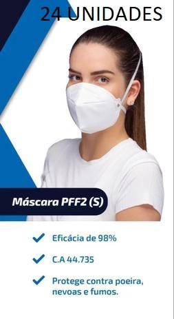 Mascara N95 Pff2 98% Proteção ANVISA/INMETRO/CA 24 unidades