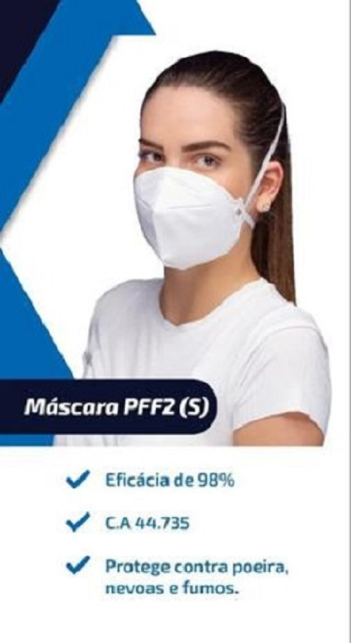Mascara N95 Pff2 98% Proteção ANVISA Protectme 24 Uni