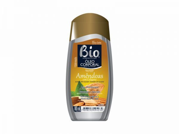Oleo Corporal Amendoas Colageno 80ml Bio2