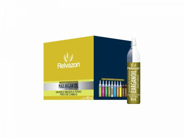 ÓLEO MAX ARGAIN OIL AMPOLA 10ML RELVAZON
