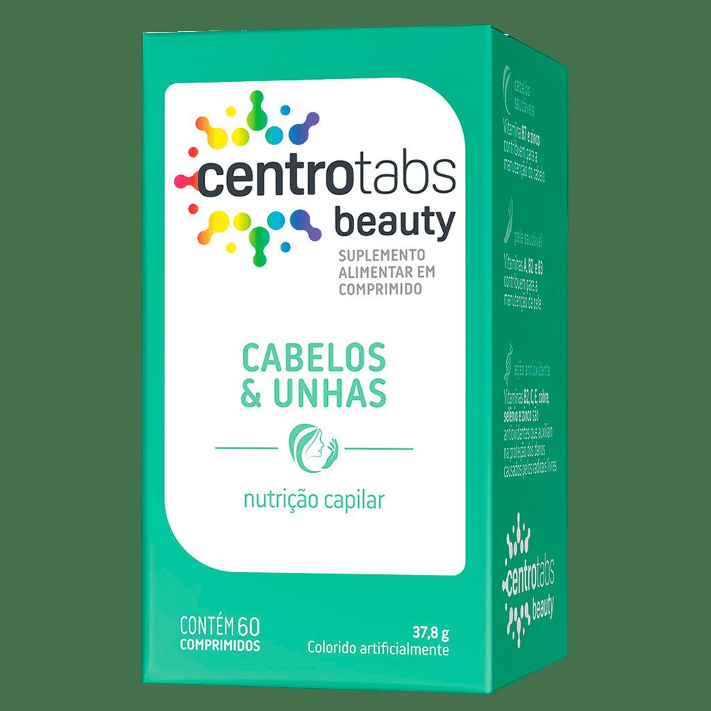 Polivitaminico Centrotabs Beauty Cabelos E Unhas 60 Cap