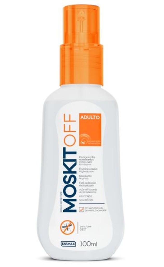 Repelente Moskitoff Oil Free DEET 100ml Spray