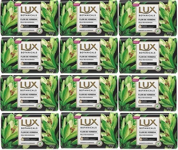 Sabonete em Barra LUX Flor de Verbena 85g 12 unidades