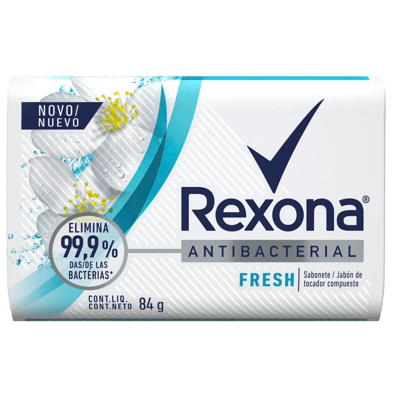 Sabonete em Barra Rexona Antibacteriano 84g