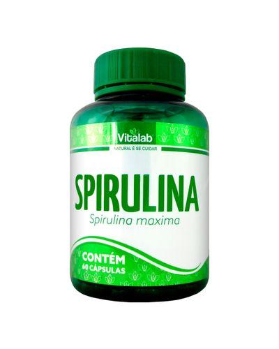 Spirulina Maxima (250mg) 60 cápsulas - vitalab