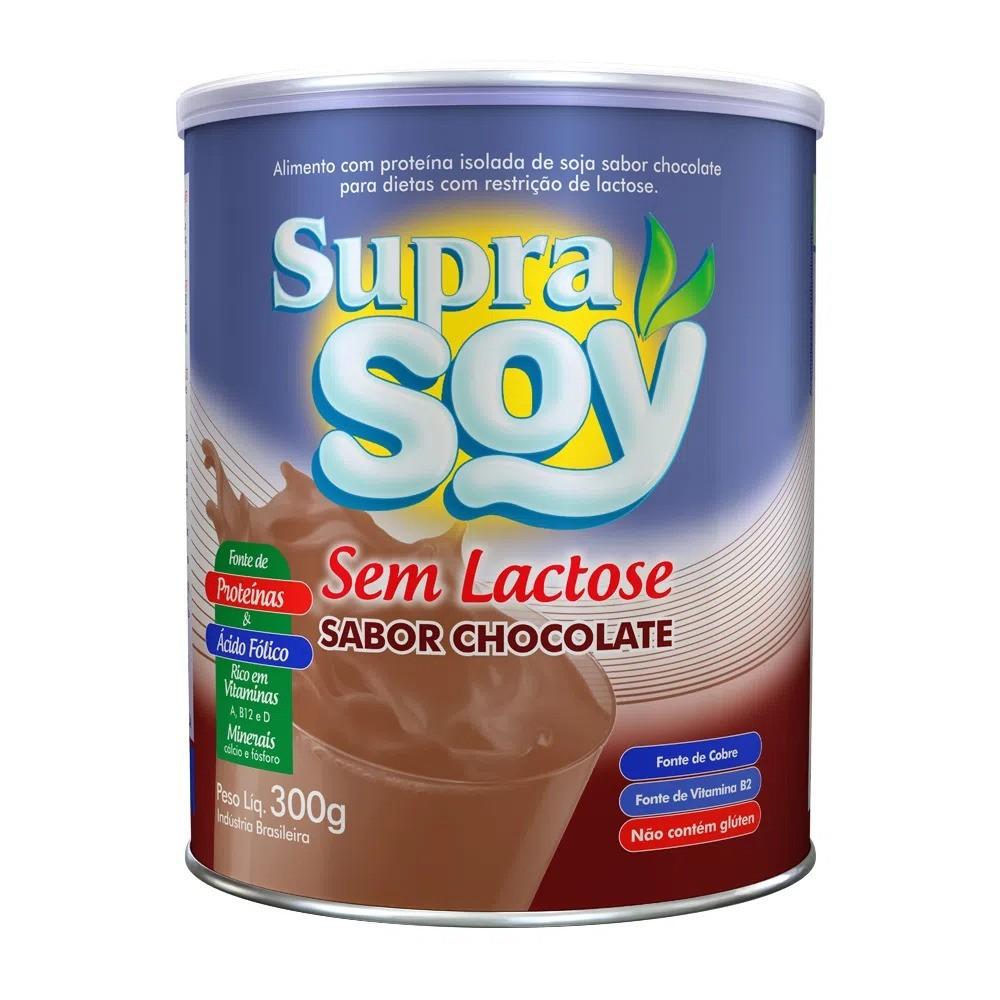 Suprasoy Sem Lactose Chocolate 300g - Supra Soy