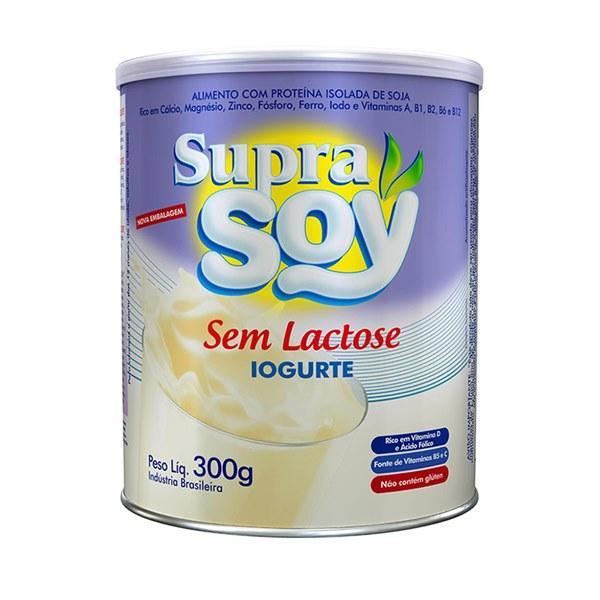 Suprasoy Sem Lactose Iogurte 300g - Supra Soy
