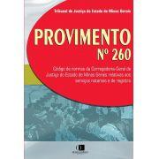 Provimento nº 260 1ª edição