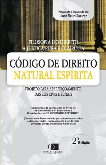 Código de direito natural espírita 2ª edição