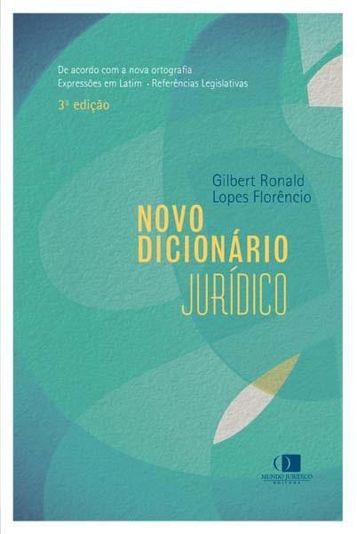 Novo dicionário jurídico 1ª edição