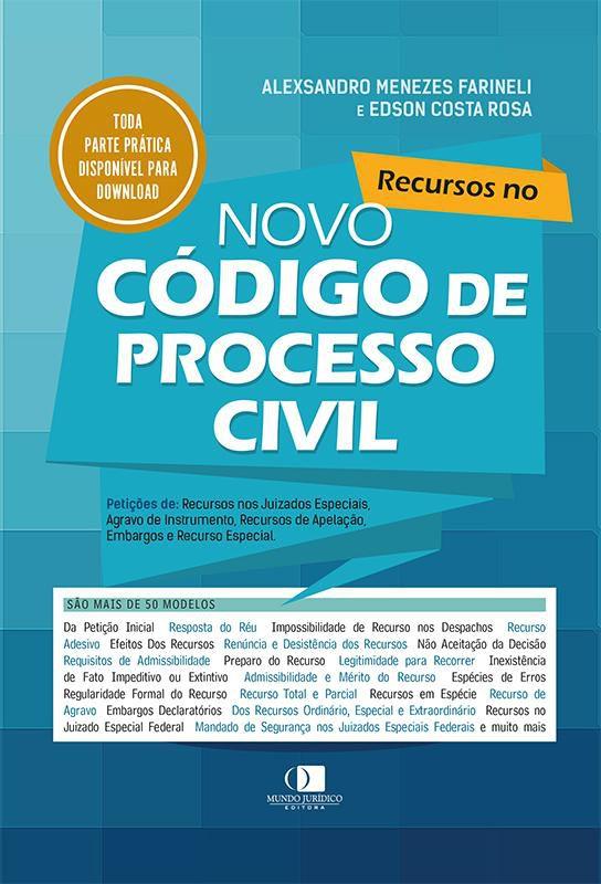 Recursos no novo Código de Processo Civil 1ª edição