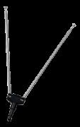 Antena Interna Telescópica 5 estágios UHF / VHF