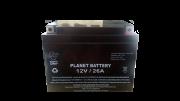 Bateria Selada 12V / 26A