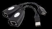 Cabo de Extensão USB Usando Plug RJ-45