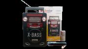 Caixa de Som Amplif /Radio/ USB/ Gravador