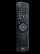 Controle de Tv Philips 4k netflix