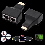 Conversor de cabo HDMI para cabo de rede